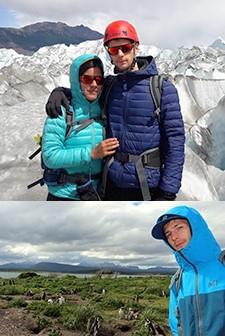 Laura Libotte et Cyrille Mosbeux en Patagonie
