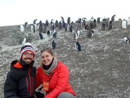 Cécile et Cédric Michelet en Patagonie