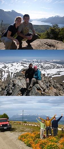 Christine Robyns et Jérôme R. en Patagonie