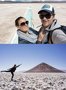Jérôme Bonnet et Marion Roman au Nord-Ouest Argentin