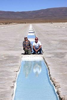 Sylvie Roinsolle et Jean-Pierre Etcheverry en Argentine et au Chili