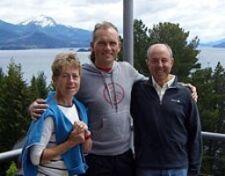 Marie-Gabrielle et Édouard Hernandez en Patagonie argentine