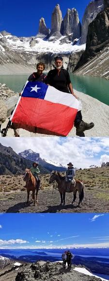 Anne-Marie Arberet et Bruno Sanjou en Patagonie