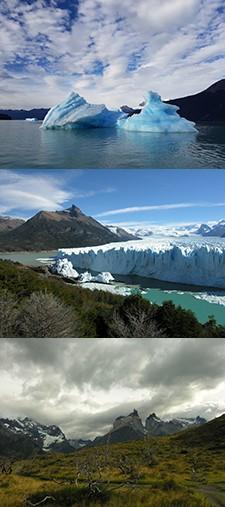 Véronique et Marie-José Almy en Patagonie argentine et chilienne