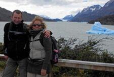 Remedios Benacloche et Pierre-Alain Oberli en Patagonie Argentine et Chilienne