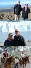Chantal et Claude Deruelle en Patagonie Argentine Chili
