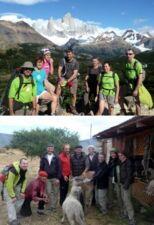 Groupe Gilles Grange (x7) en Patagonie Argentine et Chili