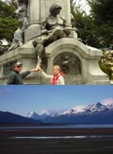 Marie-Gabrielle et Édouard Hernandez en Patagonie argentine et chilienne