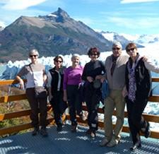 Groupe Mme Moncade (x6) en Patagonie argentine et chilienne