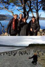 Louisette et Jean-Gilbert Monier, Odette et Gérard Chambon en Patagonie Argentine et Chili