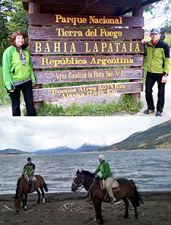 Martine et Dario Sacchet en Patagonie argentine