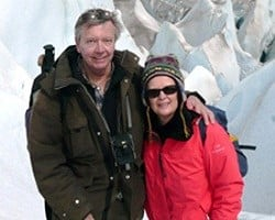 Martine et Pascal Tiberghien en Patagonie Argentine