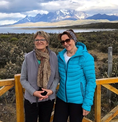 Ariane Mercier et Thérèse Bielander en Patagonie argentine et chilienne