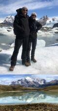 Béatrice et Bernard Rumpler en Patagonie