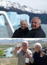 Odile et André Bureau en Patagonie et au Cap Horn