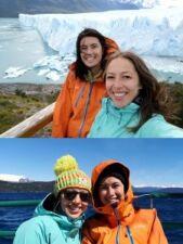 Priscilla David et Kareen Iken en Patagonie