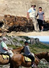 Thibaut et Simone de Mallmann en Patagonie