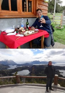 Erick Drillaud en Patagonie