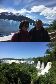 Martine et Christian Farges en Patagonie