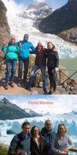 Sylvie, Lucie, Pascal et Adrien Reymondet en Patagonie