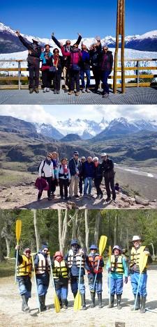 Groupe Doussal en Patagonie
