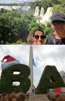 Aline et Loïc Debise en Argentine et au Chili