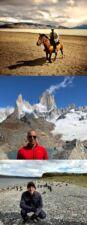 Charles Kessous en Patagonie et à Iguazu