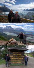 Daniel et Odette LE CUNFF en Patagonie argentine et chilienne