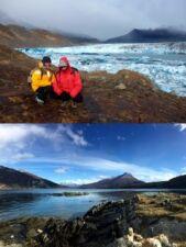 Carol Le Couteur et Sylvain Coureaut en Patagonie