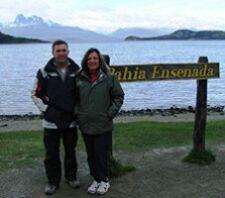 Brigitte et Jean-Jacques Le Tiec en Patagonie
