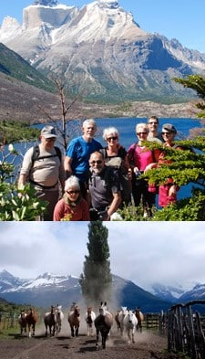 Le groupe Mechenin (x8) en Patagonie
