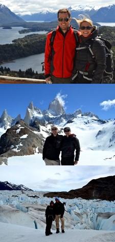 Delphine Mercier et François Réminiac en Patagonie