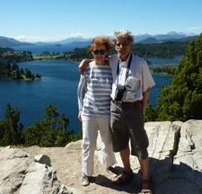 Marie-Elisabeth et Jean-Louis Pérès en Patagonie