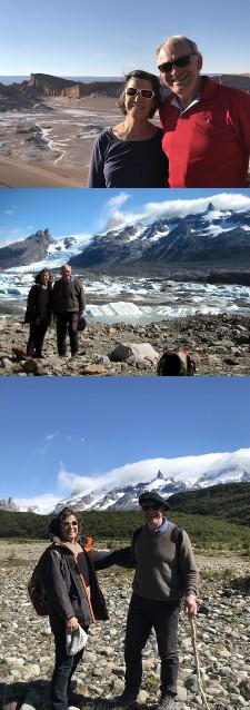 François et Sylvie Guyon en Patagonie et à San Pedro de Atacama