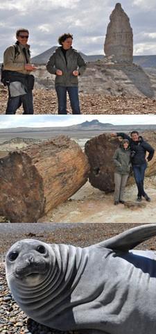 Jean-Luc et Dona Sauvage en Patagonie