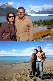 Karine Lucini et Alain Castro en Patagonie et Terre de Feu