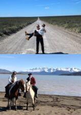 Véronique et Hervé Tourneret en Patagonie
