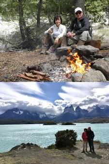 Nicole et Didier Villatte en Patagonie
