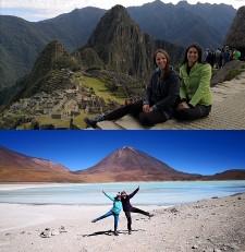 Priscilla David et Kareen Iken au Pérou, en Bolivie et au Chili
