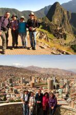 François, Françoise Pommé, Claude et Chantal Donay au Pérou et en Bolivie