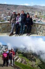 Maria et Philippe Mylle, Djiga et Eric Quillien au Pérou et en Bolivie