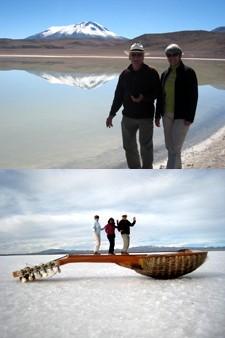 Joël et Colette Roue au Pérou et en Bolivie