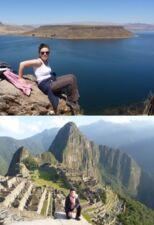 Stéphanie Place au Pérou