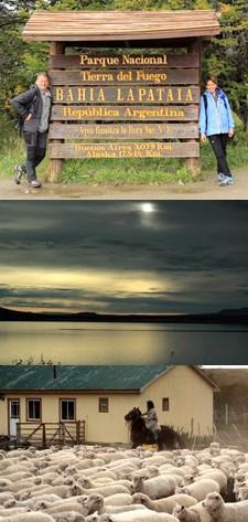 Caroline Poncet et Gilbert Lanusse en Patagonie