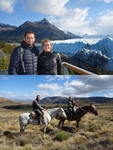 Guillaume Donnadieu et Lucie Fradin en Argentine et au Chili