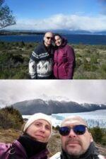 Damien Coutault et Sonia Palau Pla en Patagonie argentine