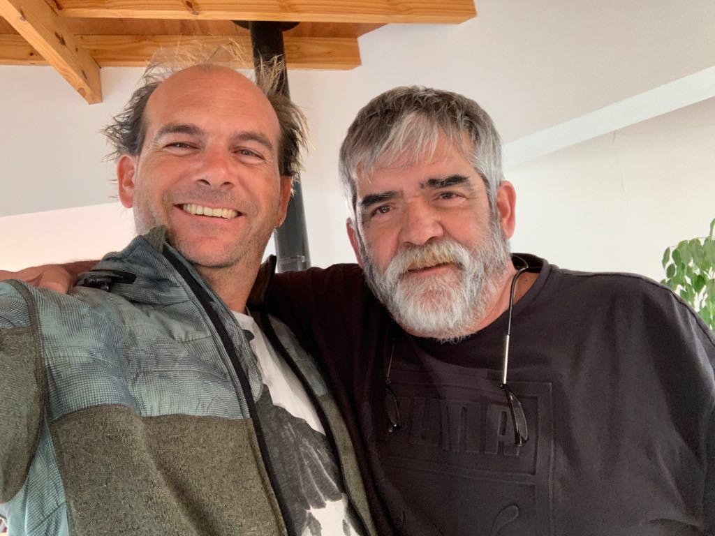 Borís y Rogeglio en Tierra del Fuego