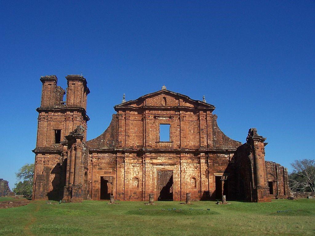 Les ruines jésuites du monde Guarani