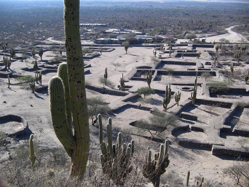 Les ruines Quilmes des civilisations Incas en Argentine