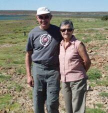 Anne-Marie et Christian Mennesson en Patagonie argentine